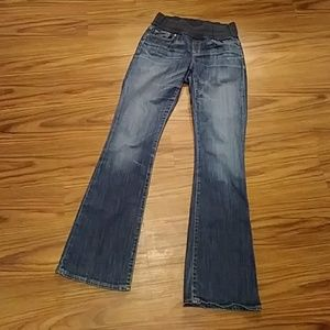 GAP Sexy Boot cut MATERNITY Jeans Sz 6L / 28x34
